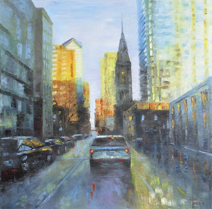 street - GXL's paintings