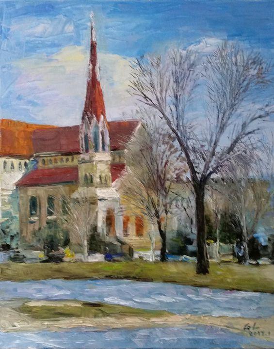 church - GXL's paintings