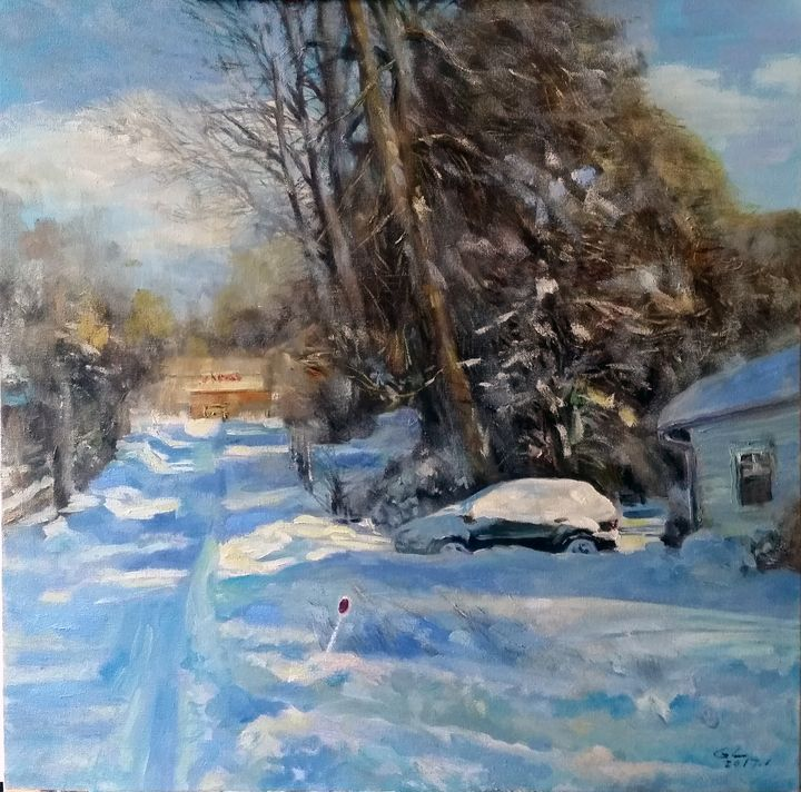 snow7 - GXL's paintings