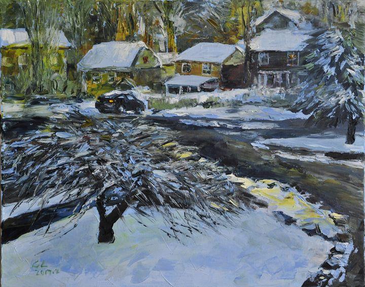 snow5 - GXL's paintings