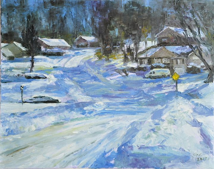 snow4 - GXL's paintings