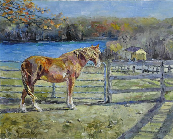 horse - GXL's paintings