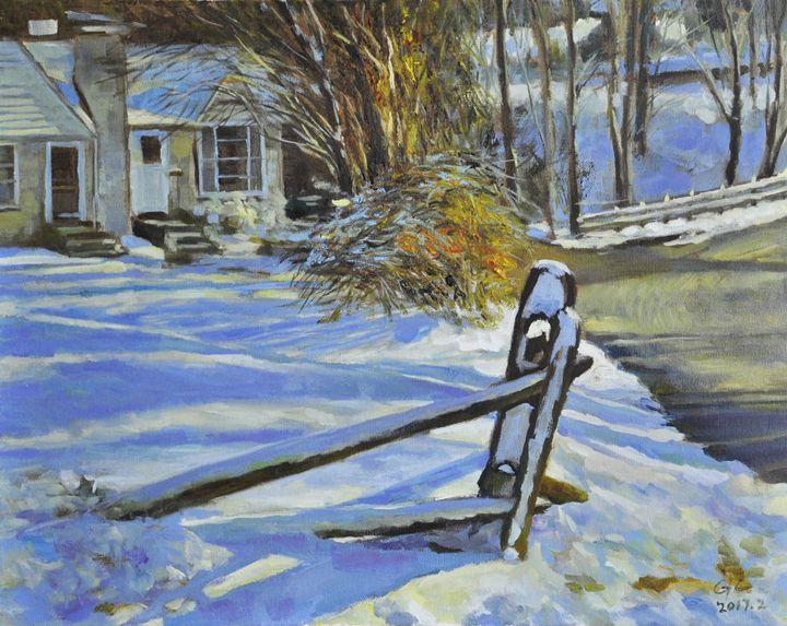 snow3 - GXL's paintings