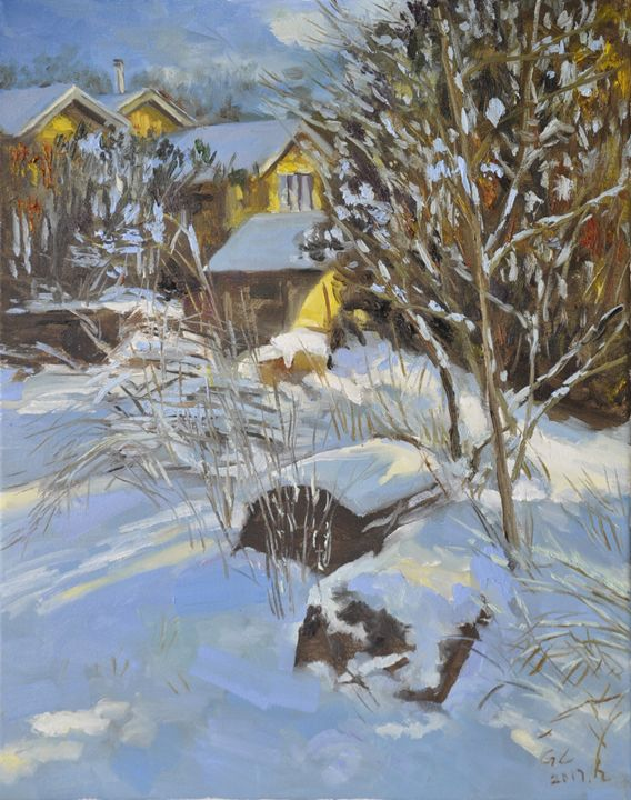 snow2 - GXL's paintings