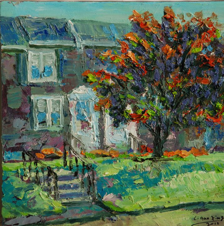 front yard - GXL's paintings