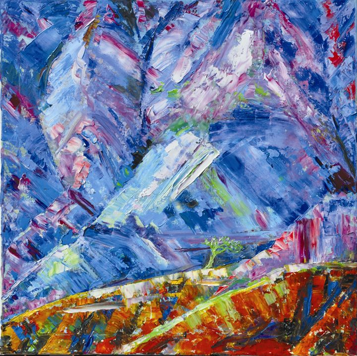 Mountains - GXL's paintings