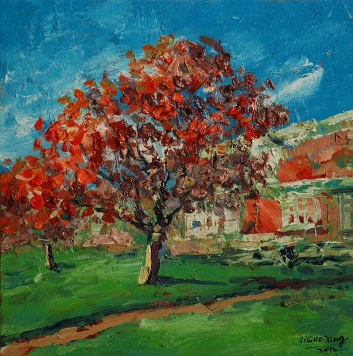 Autumn leaves - GXL's paintings