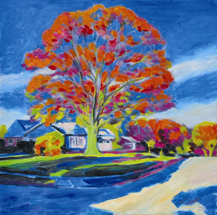 autumn - GXL's paintings