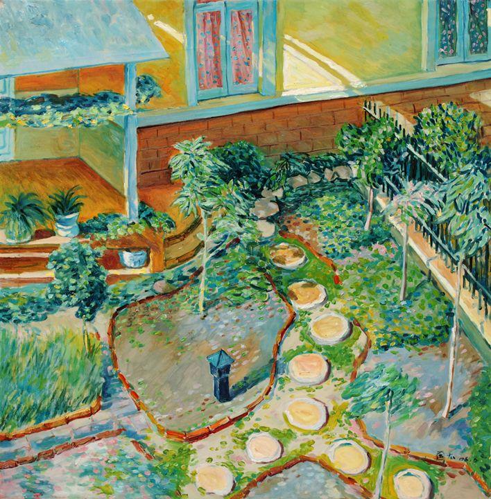 homestead 9 - GXL's paintings