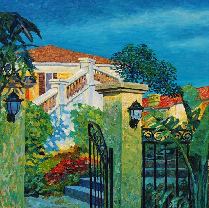 homestead 4 - GXL's paintings