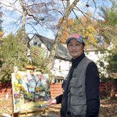 GXL's paintings