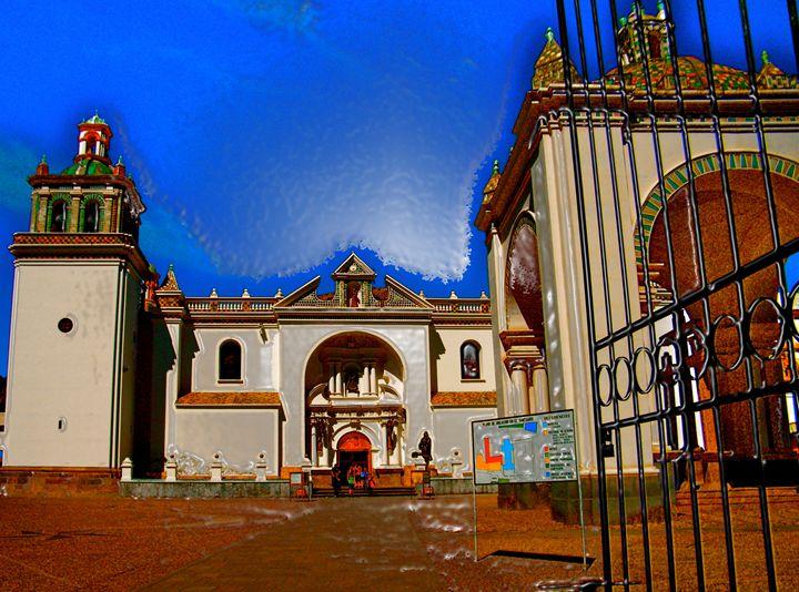 COPACABANA EGLISE - GILES ARTS