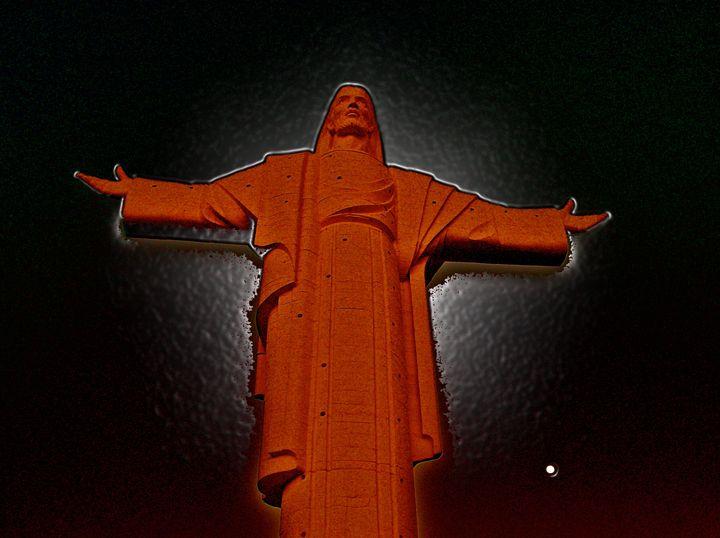 LIQUID JESUS BLED - GILES ARTS