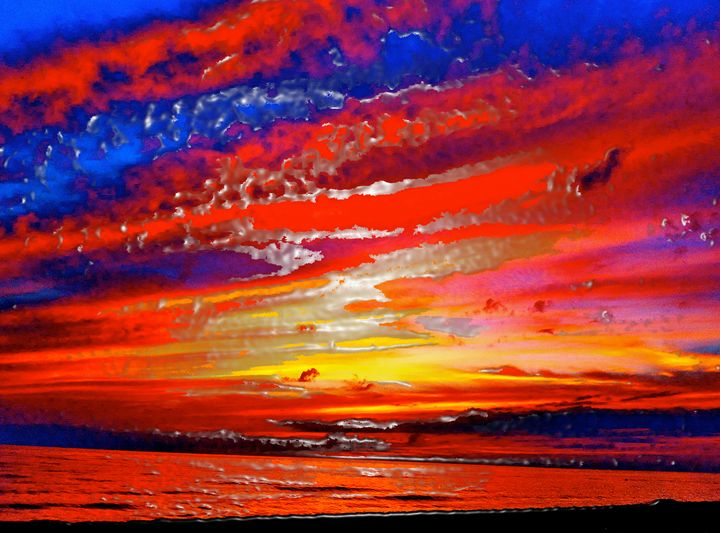 MELTING SKIES TWO - GILES ARTS