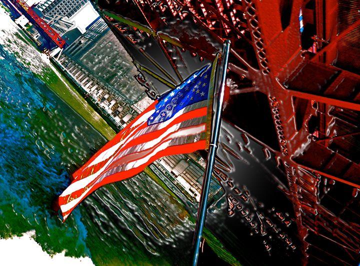 CHICAGO PATROTISM - GILES ARTS