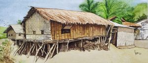 Bandarban hill tribe