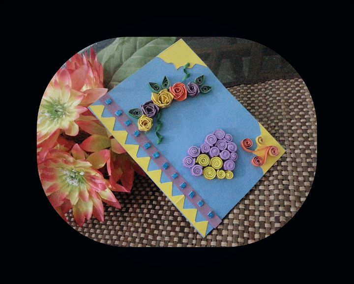 Hand Made Greeting Card - Hand made cards and gift boxes
