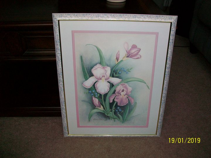 doice hedge framed floral print - I am not a gallery