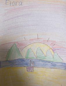 SOLD - Sunset on the Seashore