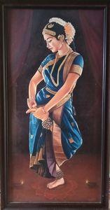 Indian bharadhanatyaa dance