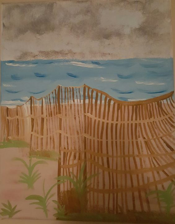 Serenity - Calming canvas art work