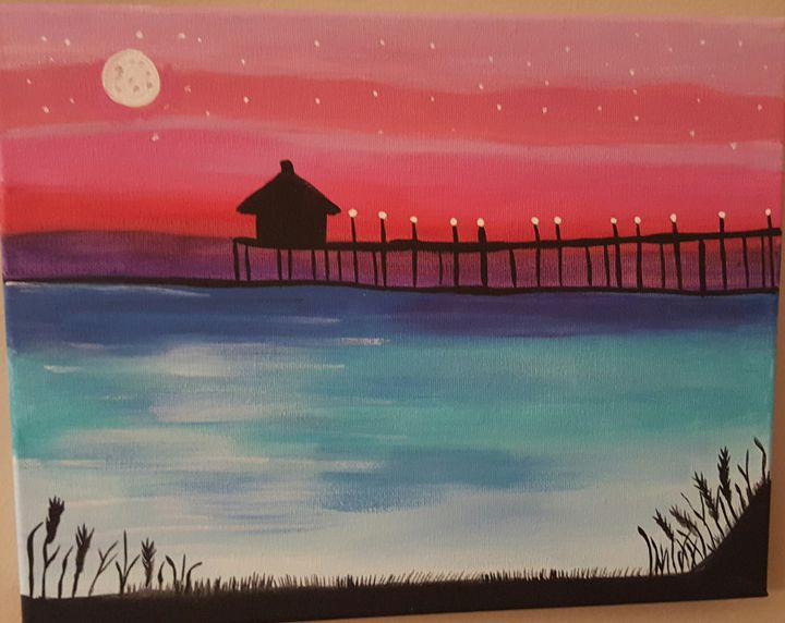 Fiji - Calming canvas art work