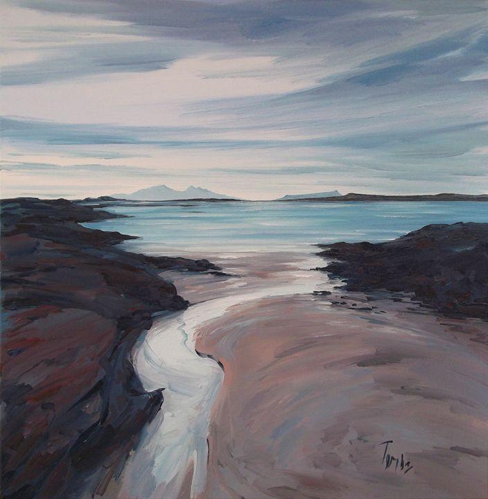 North from Portuairk - Tom Barron Artist