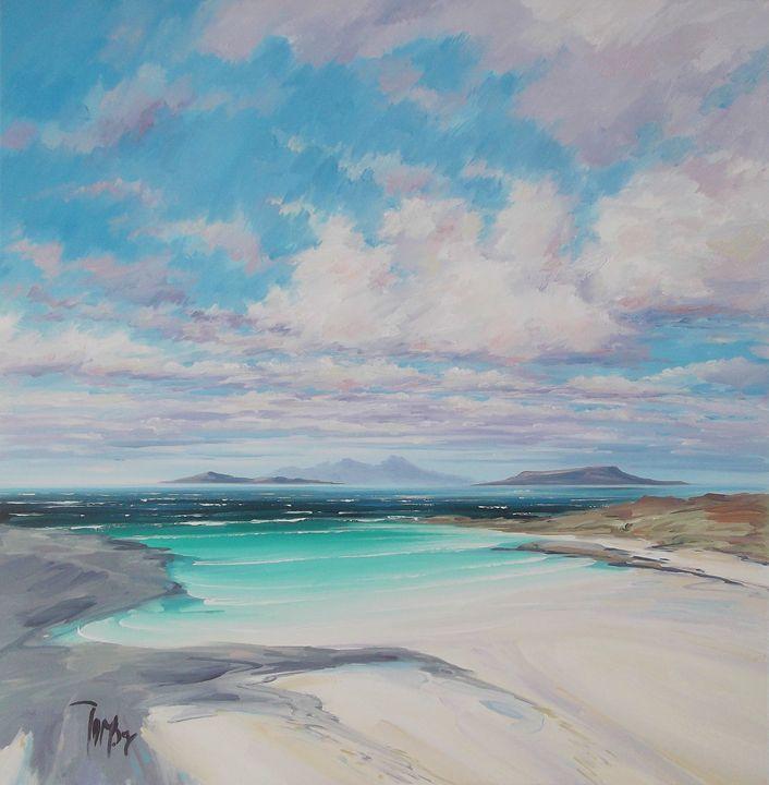 Sanna Bay - Tom Barron Artist