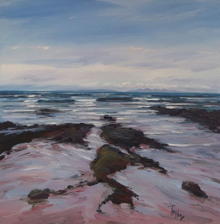 Jura from Machrihanish - Tom Barron Artist
