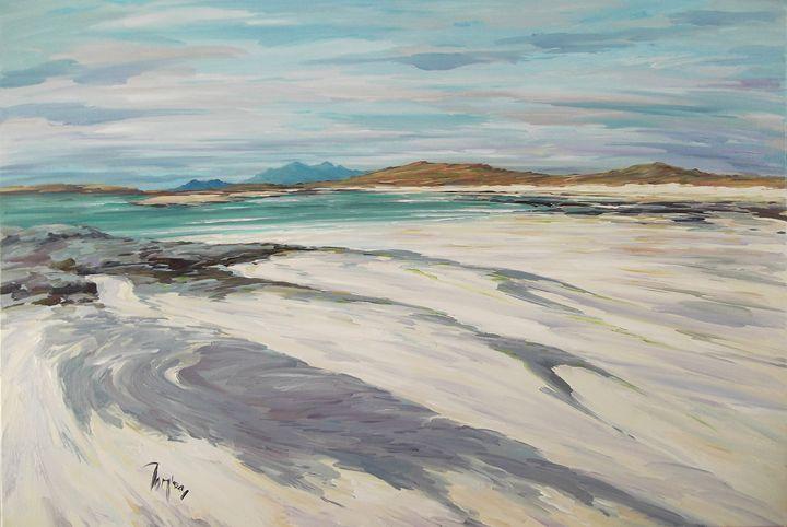 North from Sanna Bay - Tom Barron Artist