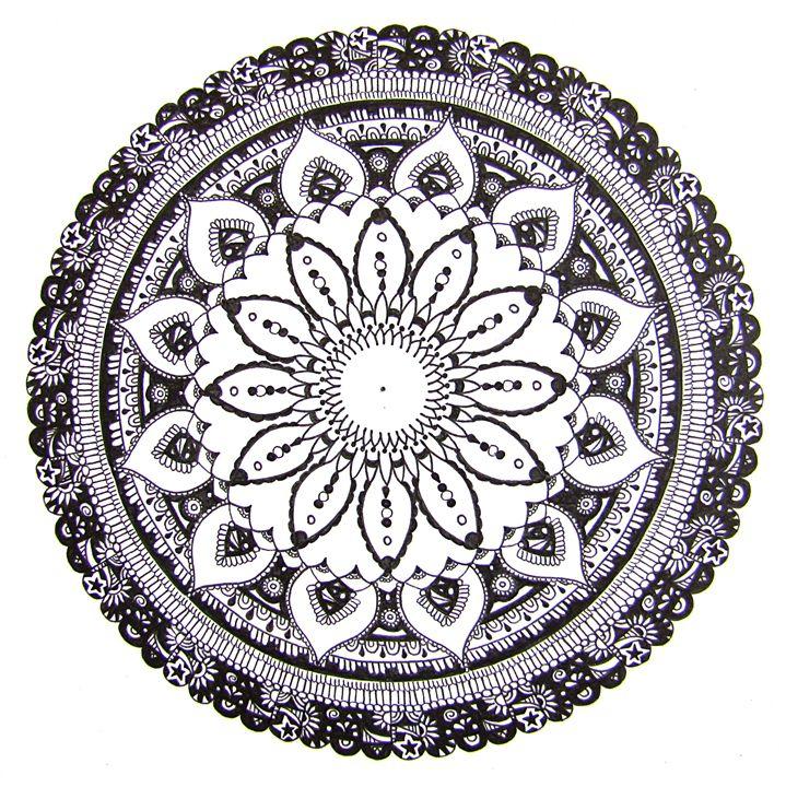 Patterns Mandala - Nicky's Mandalas