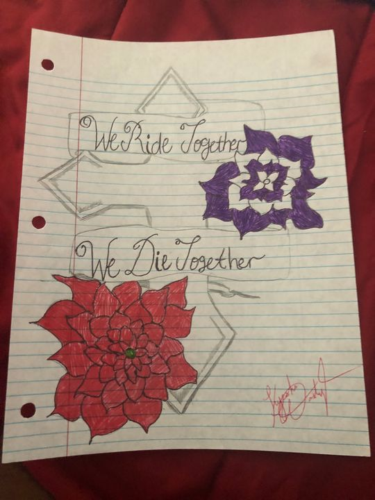 Cross tattoo - Kyesha Washington