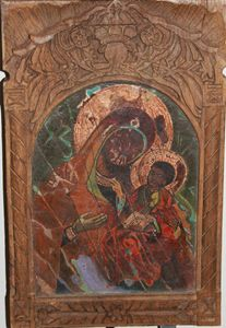 MOTHER MERRY WITH JESUS CHRIST
