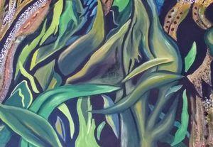 Summer Corn - Fresh Canvas by Brenda Hance