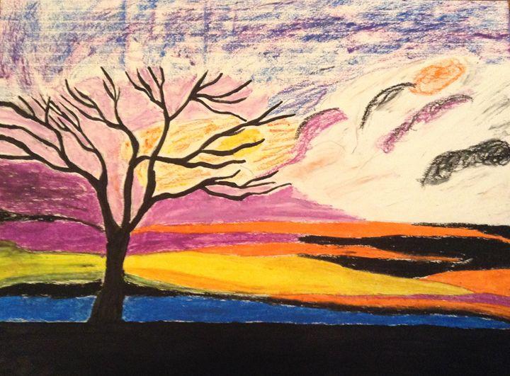 Pastel sunset - Hannah Cunningham