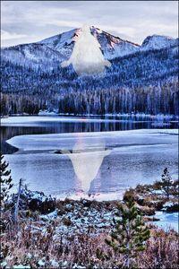 Sylvan Lake YNP Winter Christus 01