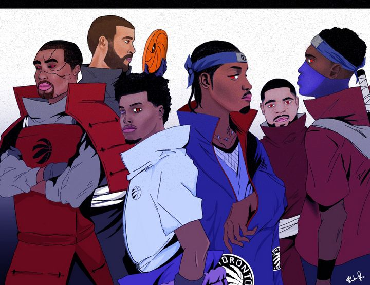 2019 Raptors NBA Champs x Uchiha - Mixer