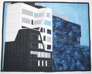 Tri-Color Building New York City - Donna Weber Designs