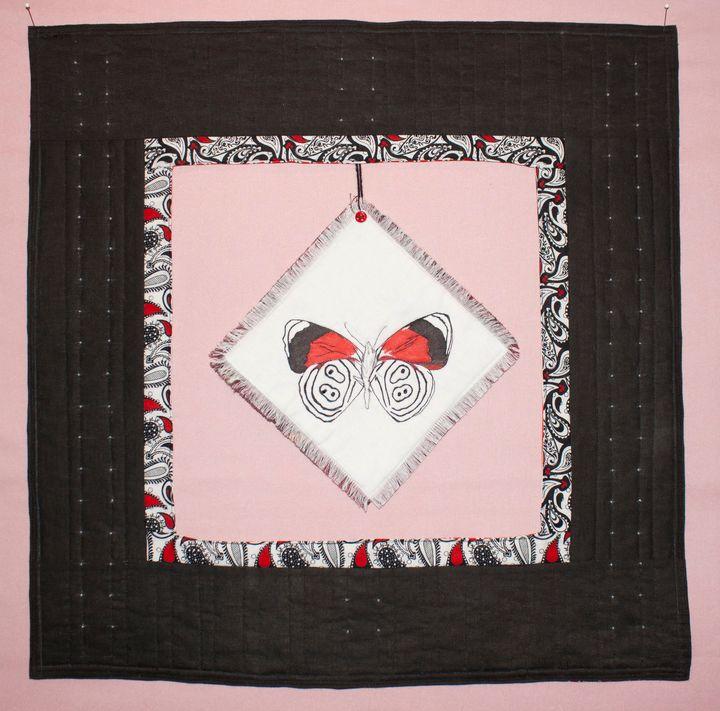 The 88 Butterfly Art Quilt - Donna Weber Designs
