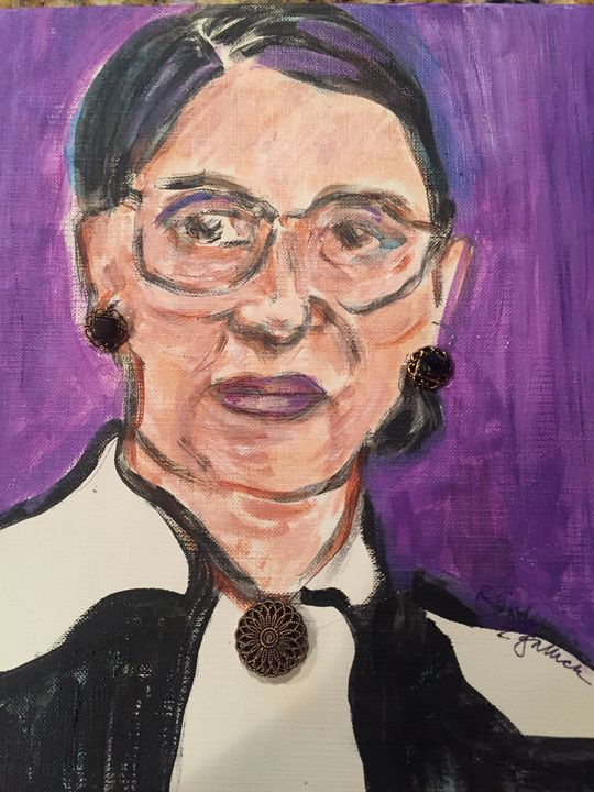 RBG's Intense gaze - Rosemary Rocks