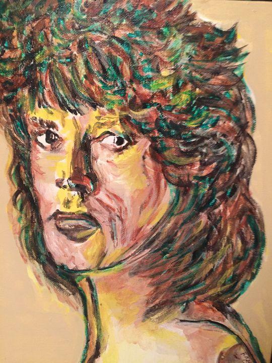 Mick Jaggar of The Rolling Stones - Rosemary Rocks