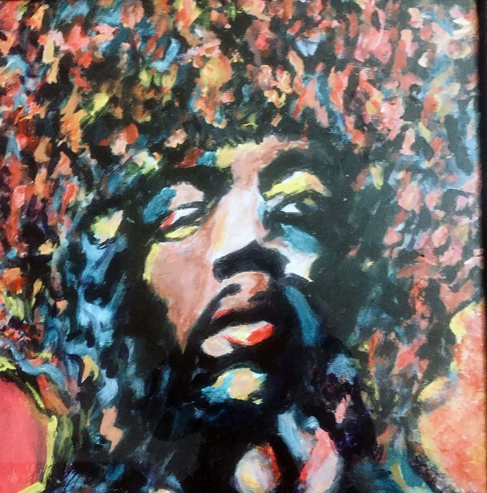 Jimi Hendrix UpClose - Rosemary Rocks