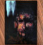 Original oil / acrylic painting port