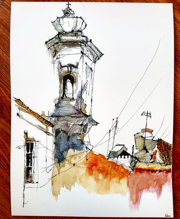Tour de Lisboa - Lukas Adami Art