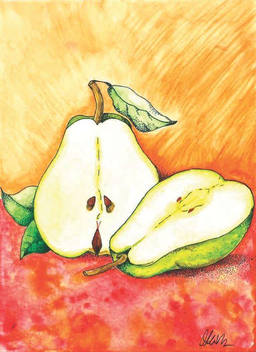 Split Pear - Olivia R Williams