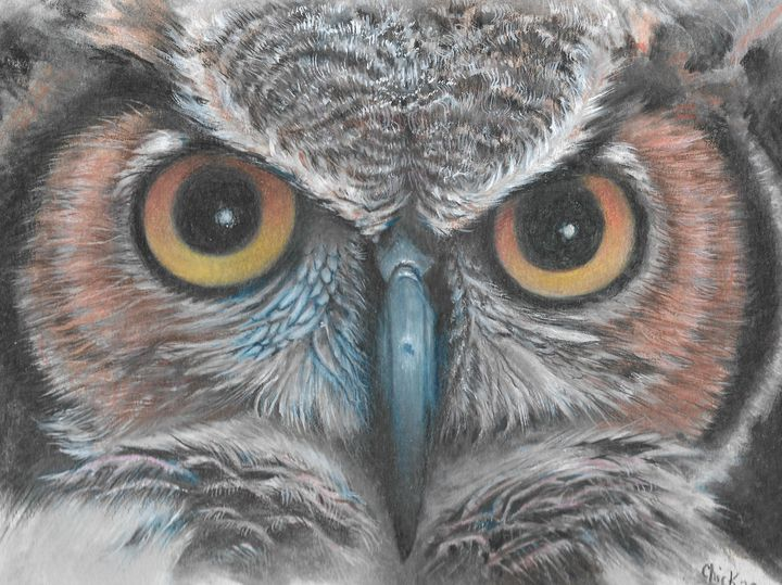 Owl Scowl - Chick Artistic Creations
