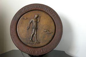 Bronze Coin In God We Trust - Reza Zarechian