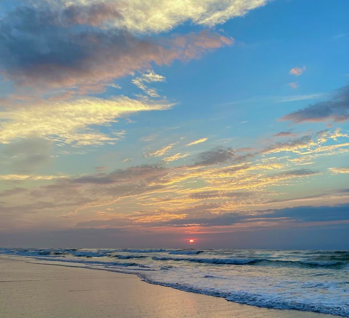 Blue Sunrise - Ehren Photography