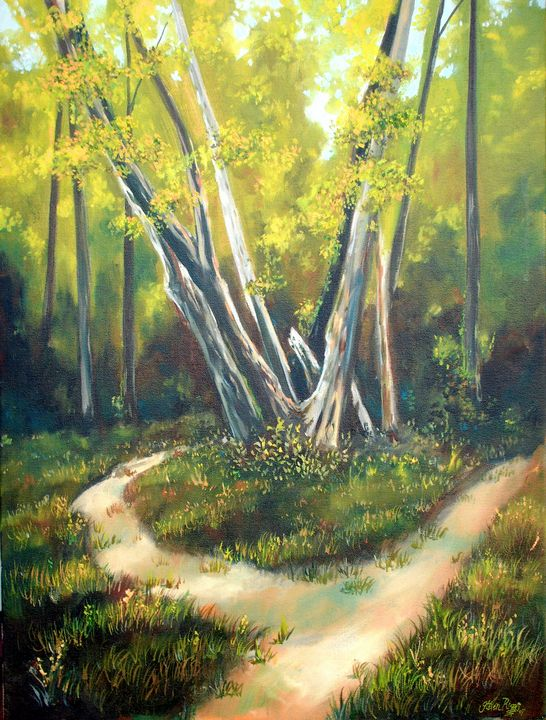 Two Paths - Steven Riggs Gallery