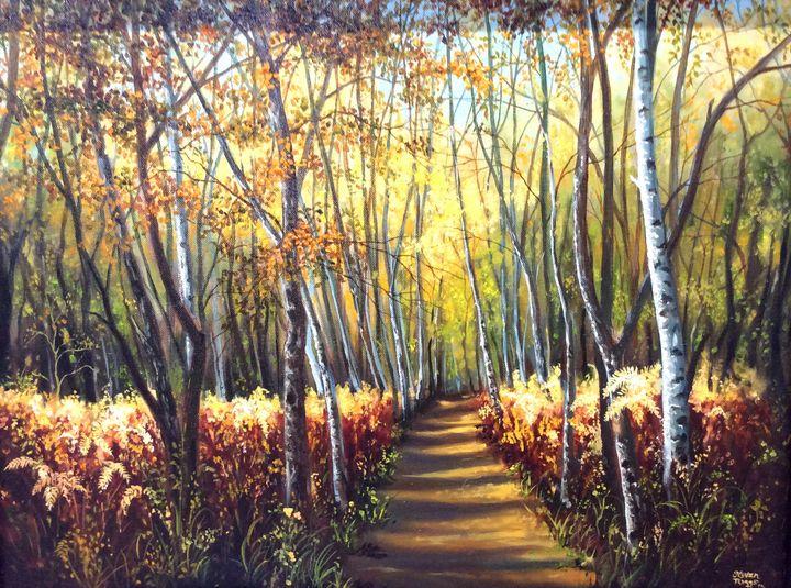 Early Fall Walk - Steven Riggs Gallery